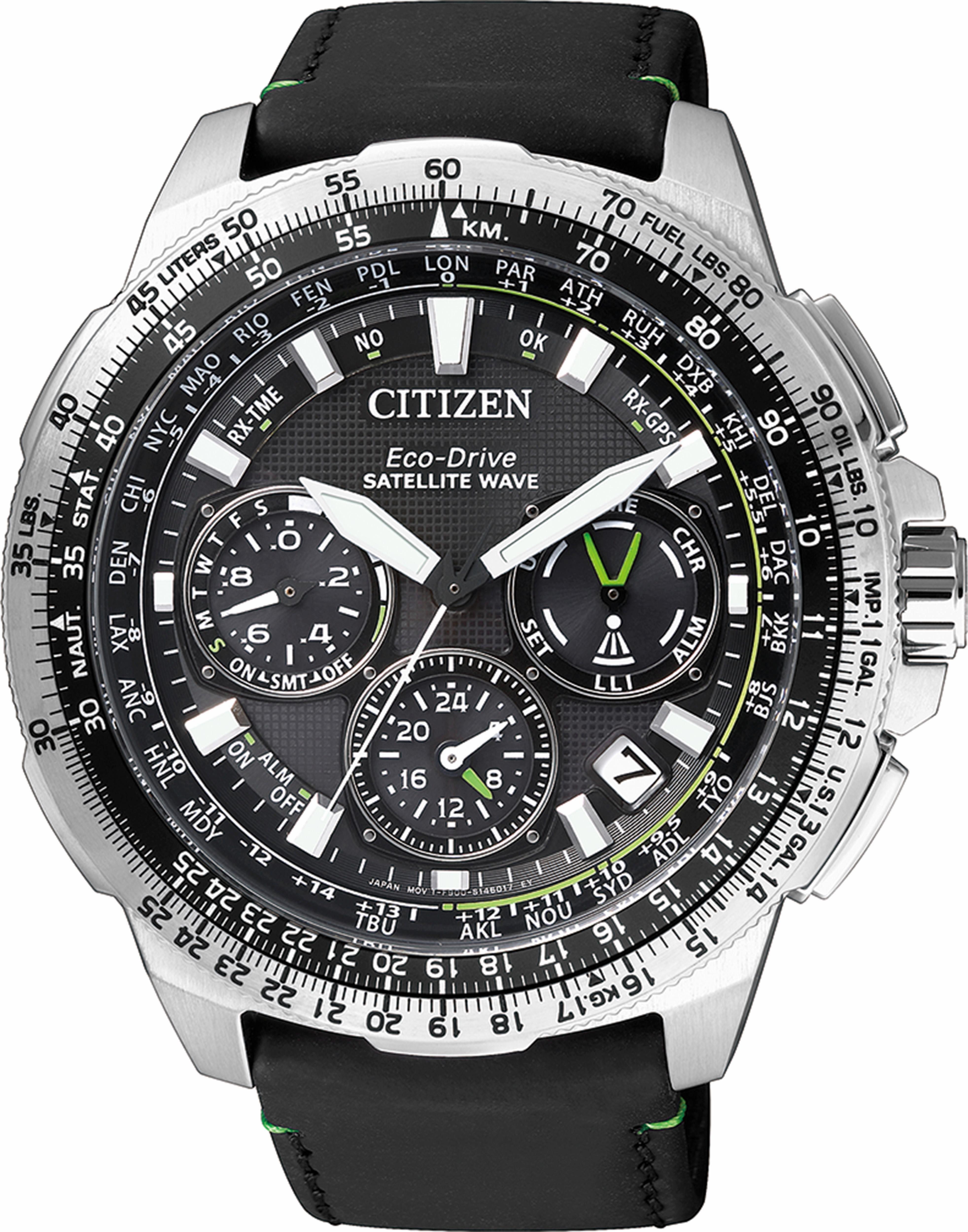 Citizen Funkchronograph »CC9030-00E«, mit Satellite Timekeeping System
