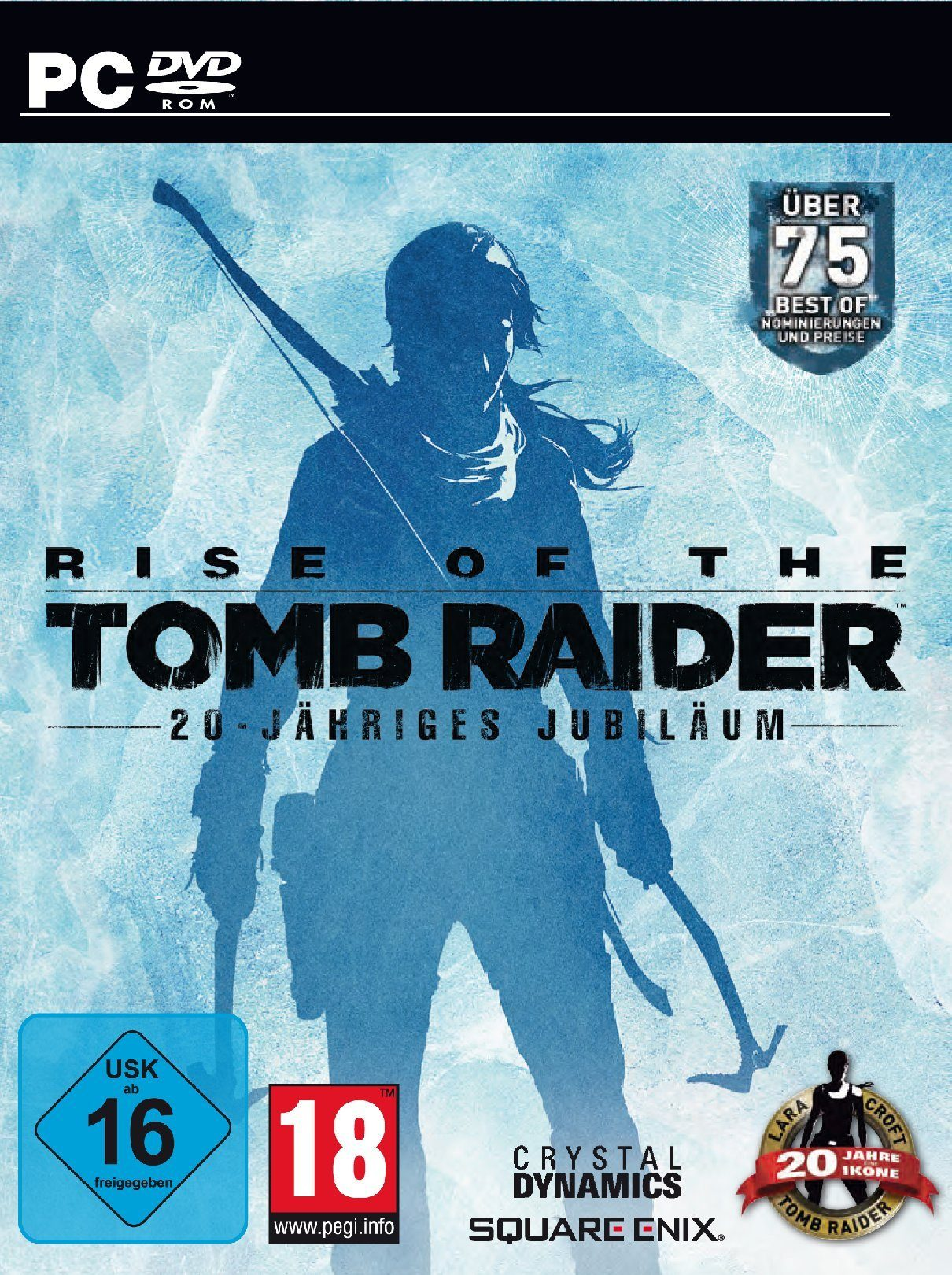 SquareEnix Rise of the Tomb Raider 20 Year Celebration D1 Edition »PC«