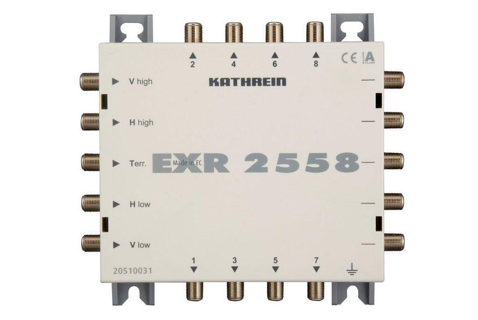 Kathrein Multischalter-Durchgang 5 auf 8 »EXR 2558« in weiss