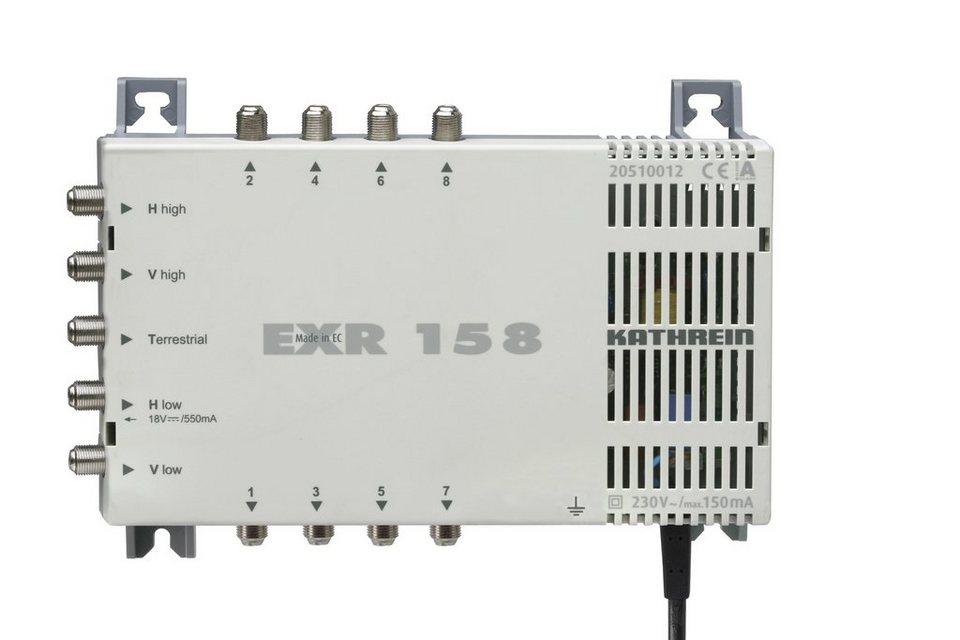 Kathrein Multischalter 5 auf 8 »EXR 158« in weiss