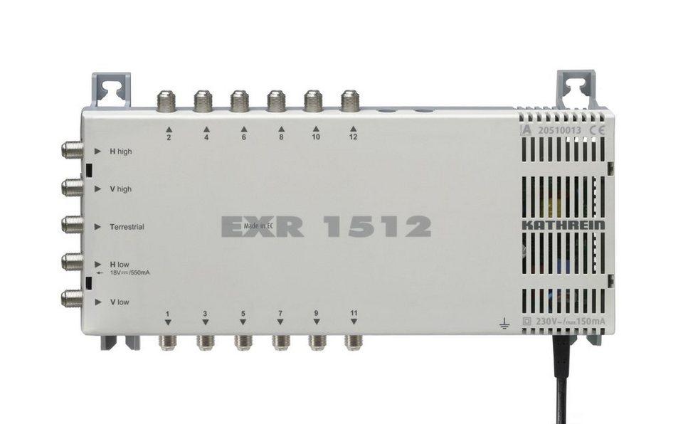 Kathrein Multischalter 5 auf 12 »EXR 1512« in weiss