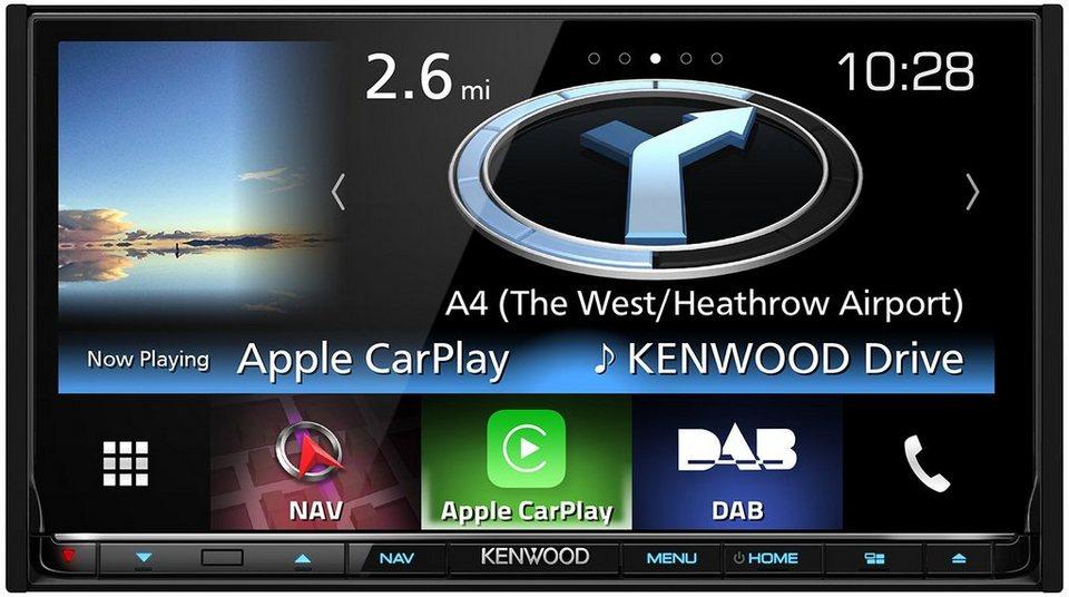 Kenwood Navigation 2-DIN Garmin »DNX8160DAB« in schwarz