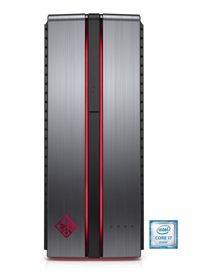 HP Omen 870-056ng Gaming-PC »Intel Core i7, GTX 1080, 256 GB + 2 TB, 16 GB«
