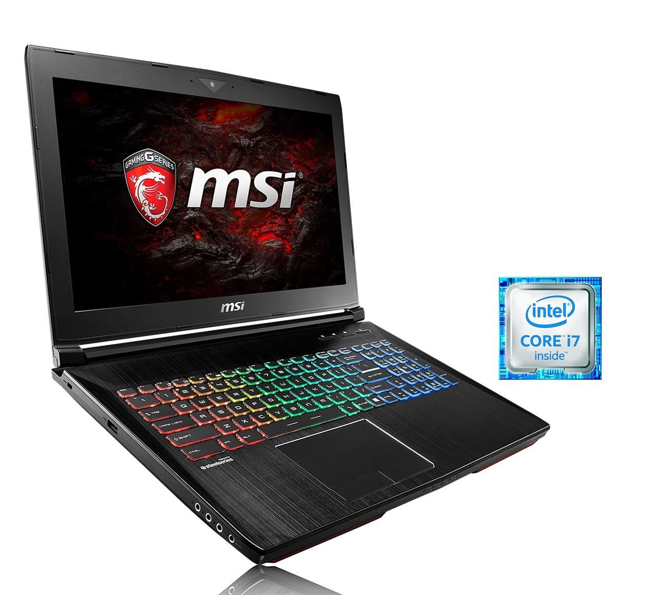 "MSI 15,6"", i7-6700HQ, 16GB RAM, SSD + HDD, GeForce® GTX 1060 »GT62VR-6RDAC16H21 (0016L2-SKU33)«"