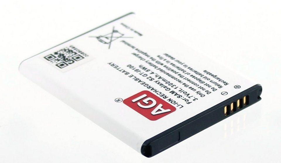 AGI Li-Ion Akku für Samsung Galaxy S2 in Weiß