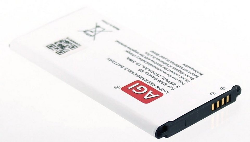 AGI Li-Ion Akku für Samsung Galaxy S5 in Weiß