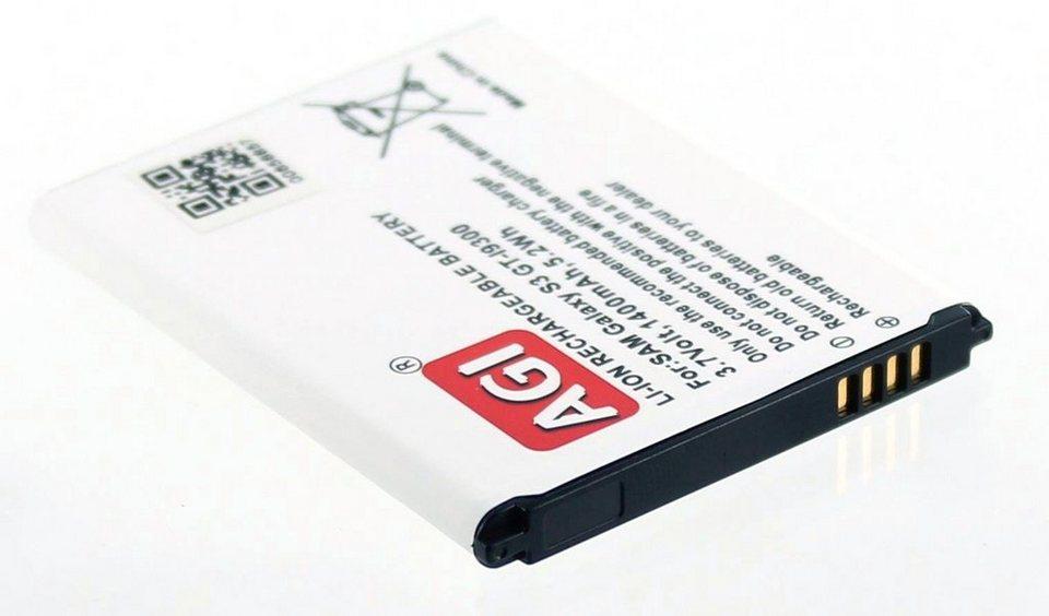 AGI Li-Ion Akku für Samsung GT-I9300 in Weiß