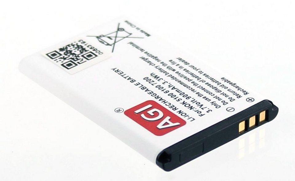 AGI Li-Ion Akku für Nokia u.a. 2300; 6131; 6100 in Weiß