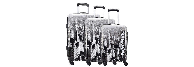 NOWI New York 4-Rollen Kofferset 3-tlg
