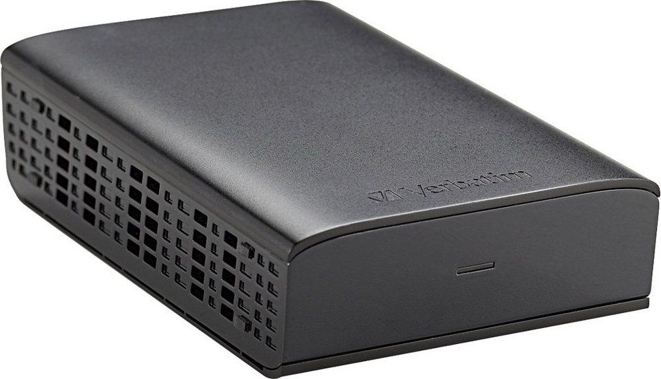 Verbatim Festplatte 1TB, USB 3.0, 8.89cm (3.5), schwarz in black