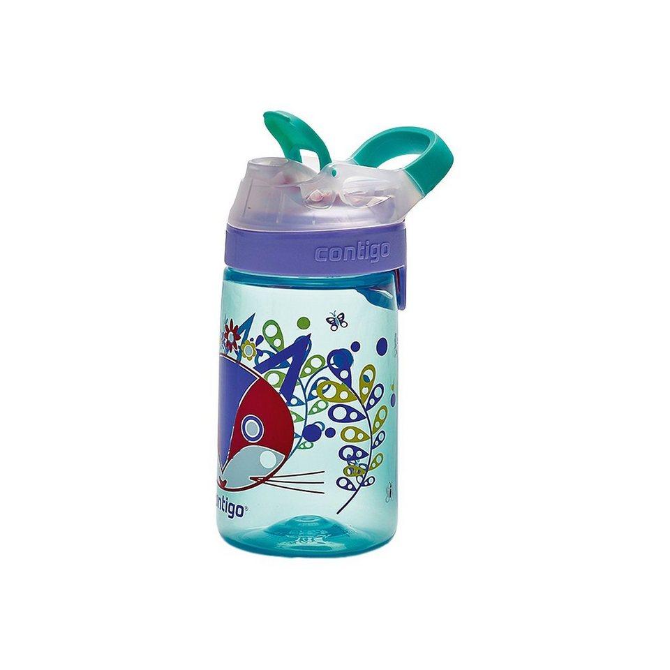 contigo Trinkflasche Gizmo Sip Ultramarine Purrfect, 420 ml in blau