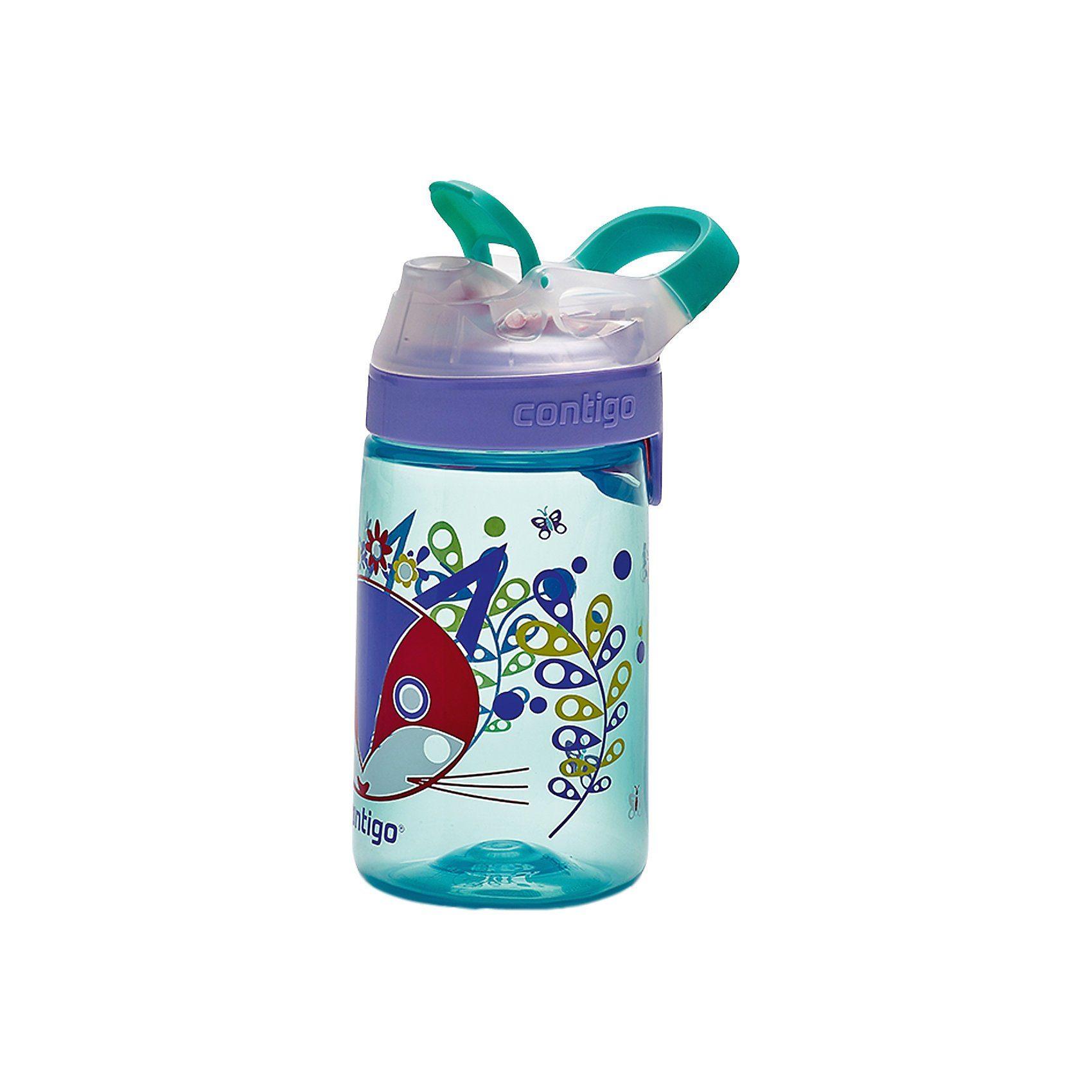 contigo Trinkflasche Gizmo Sip Ultramarine Purrfect, 420 ml