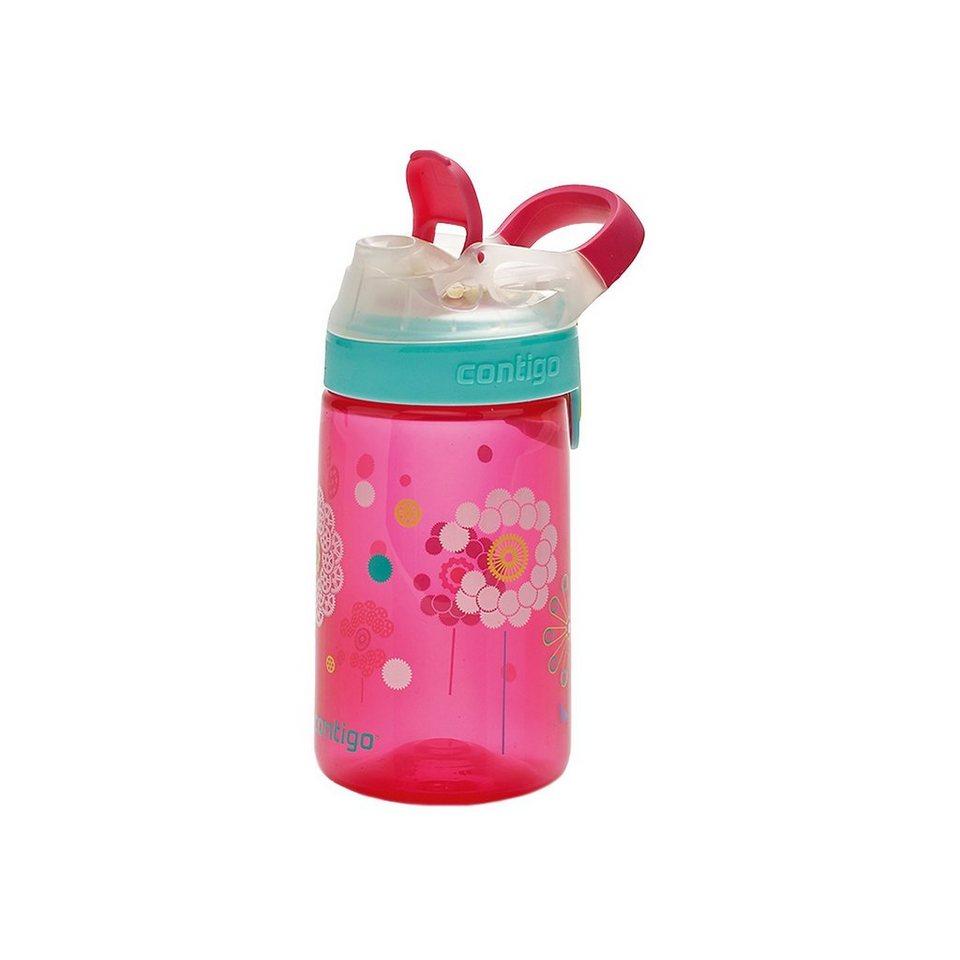 contigo Trinkflasche Gizmo Sip Cherry Blossom Dandelion, 420 ml in rot