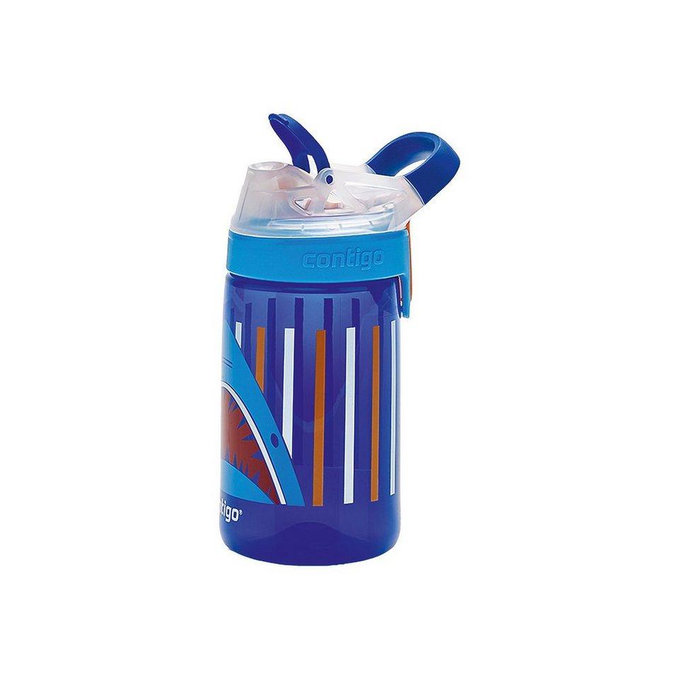 contigo Trinkflasche Gizmo Sip Sapphire Jaws, 420 ml