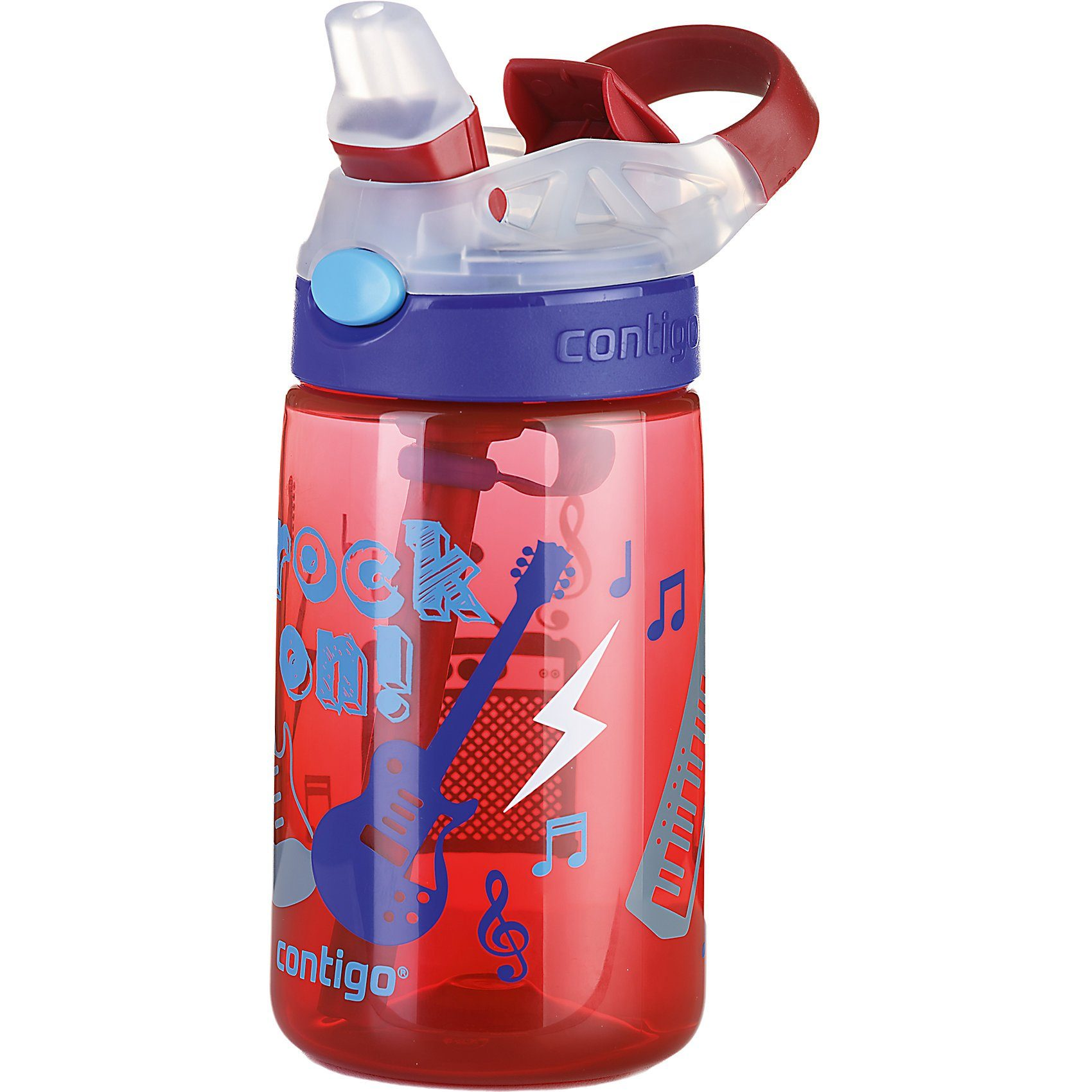 contigo Trinkflasche Gizmo Flip Cardinal rock on, 420 ml