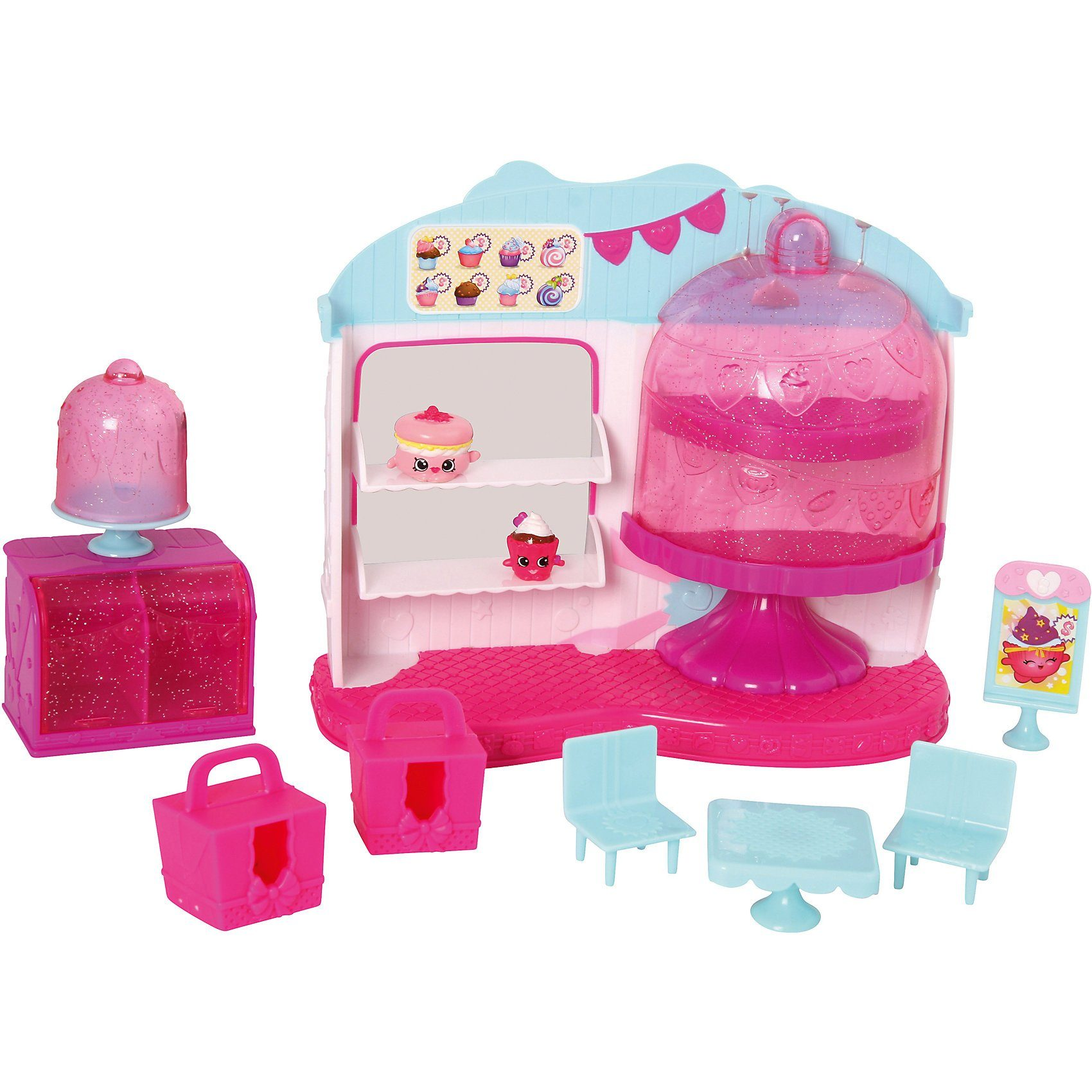 Giochi Preziosi Shopkins #4 Cupcake Queen Cafe