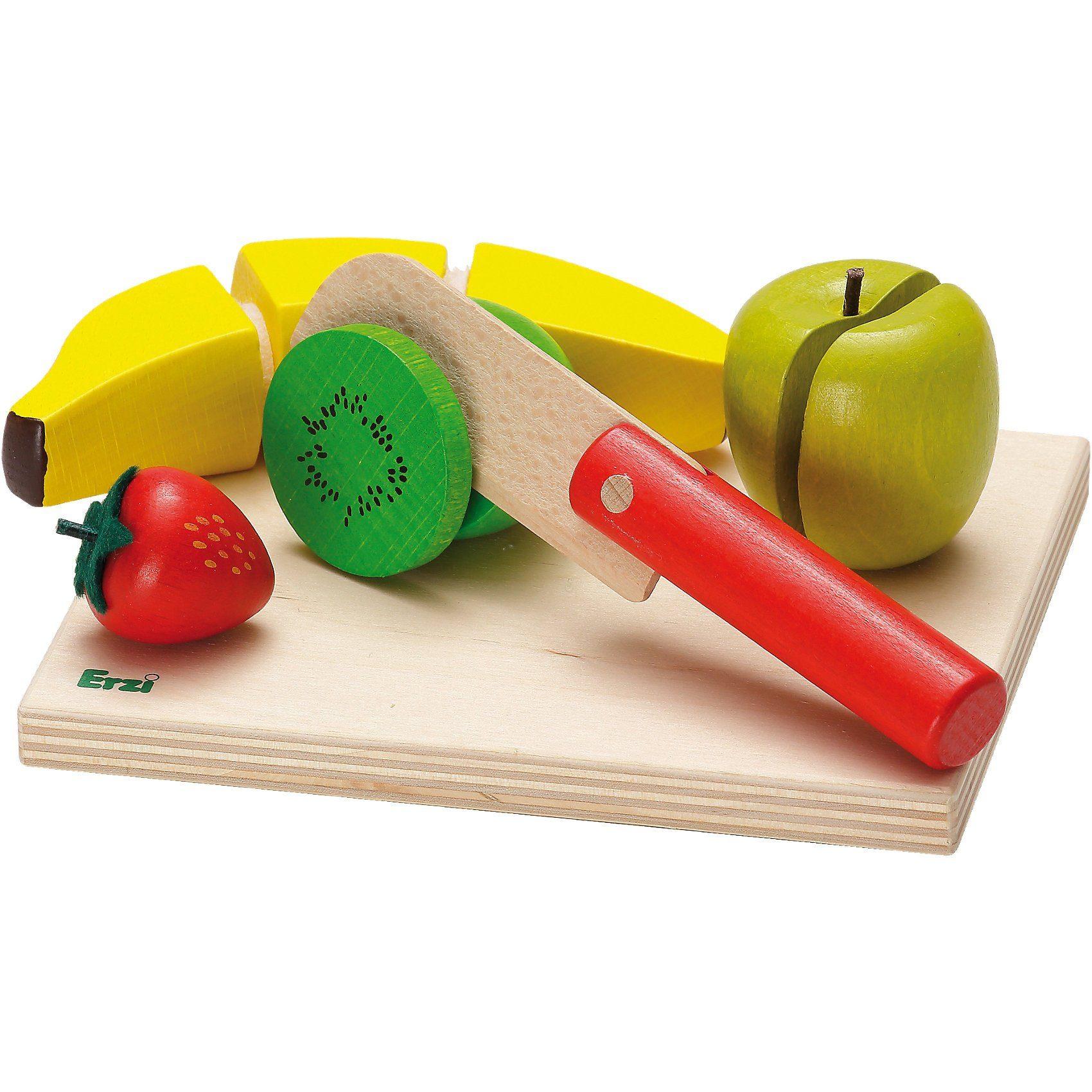 Erzi® Spiellebensmittel Schneidset Obstsalat