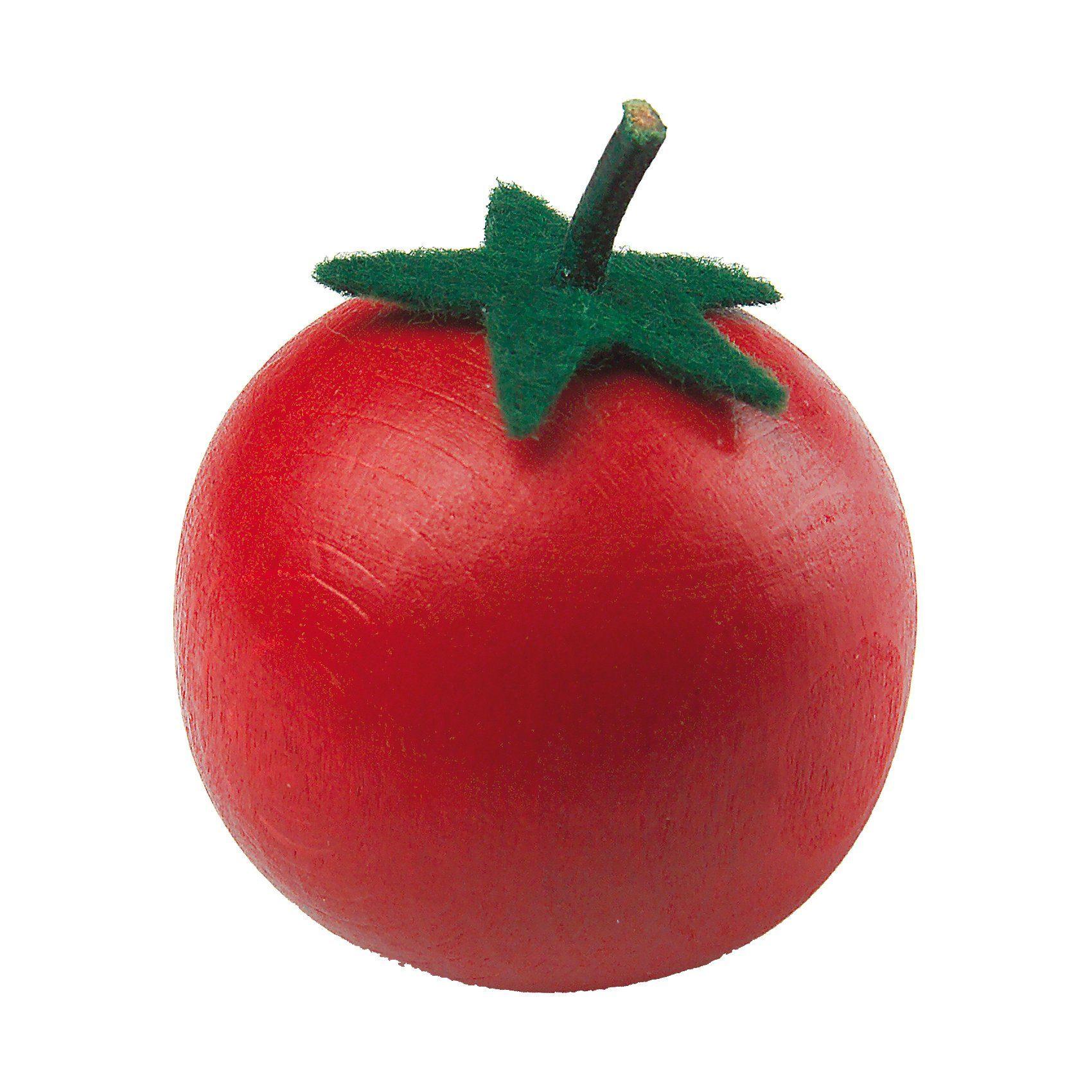ERZI Spiellebensmittel Tomate aus Holz