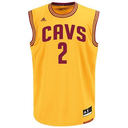 adidas Performance Cleveland Cavaliers Kyrie »Irwing Trikot 3rd« in gelb