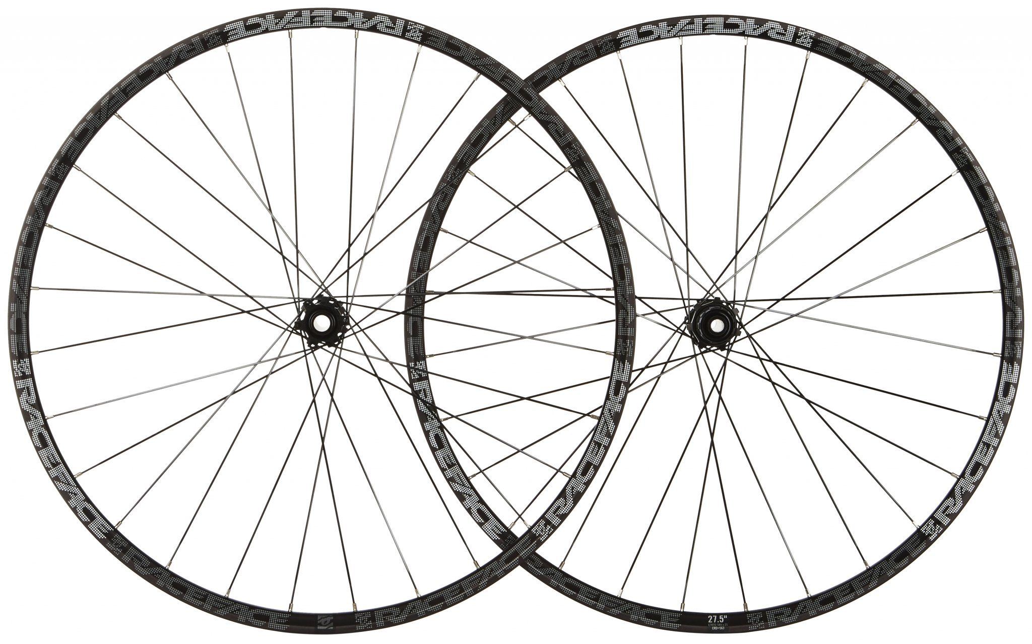 "Race Face Laufrad »Turbine Laufradsatz 27.5"" Shimano schwarz«"