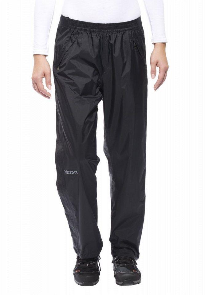 Marmot Outdoorhose »PreCip Full Zip Pant Women« in schwarz