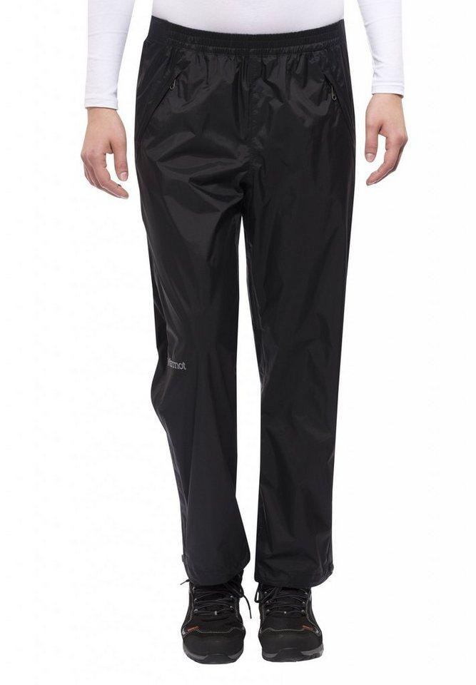 Marmot Outdoorhose »PreCip Full Zip Pant Short Women« in schwarz