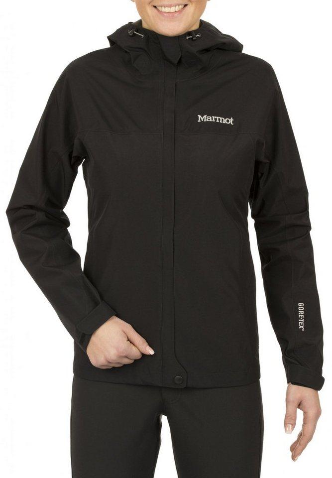 Marmot Regenjacke »Minimalist Jacket Women« in schwarz
