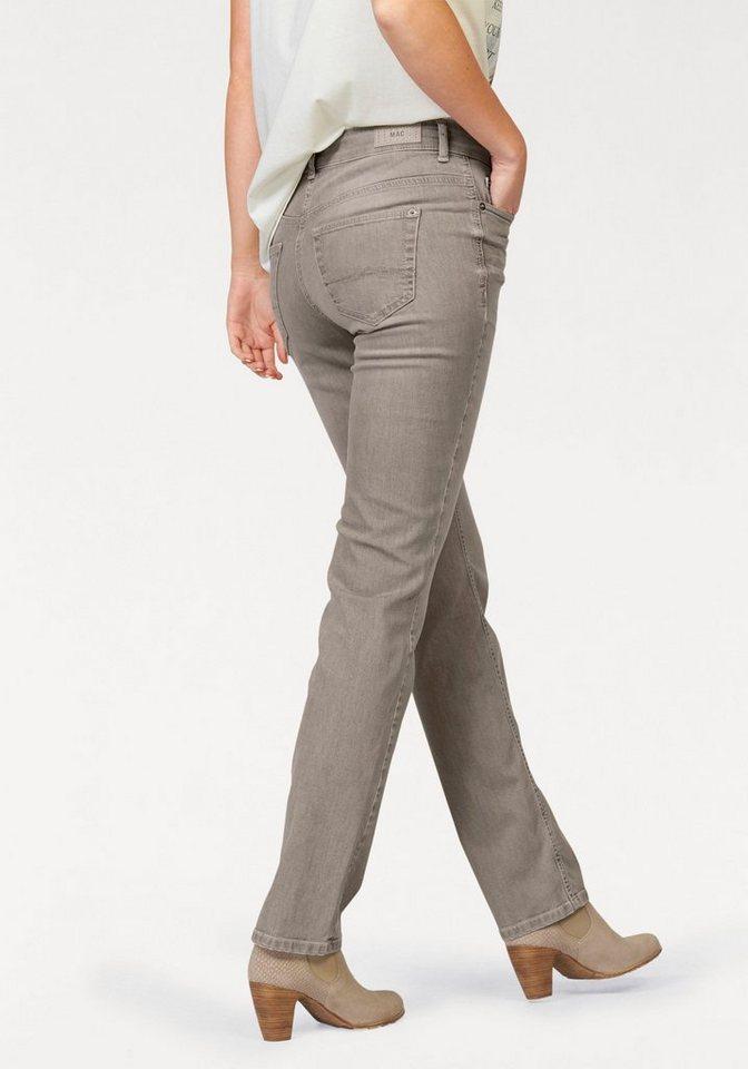 MAC 5-Pocket-Jeans »Angela« Die Schmale in beige