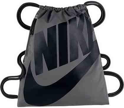 Nike Sportswear Turnbeutel »HERITAGE GYMSACK«, mit kleiner Reißverschlusstasche