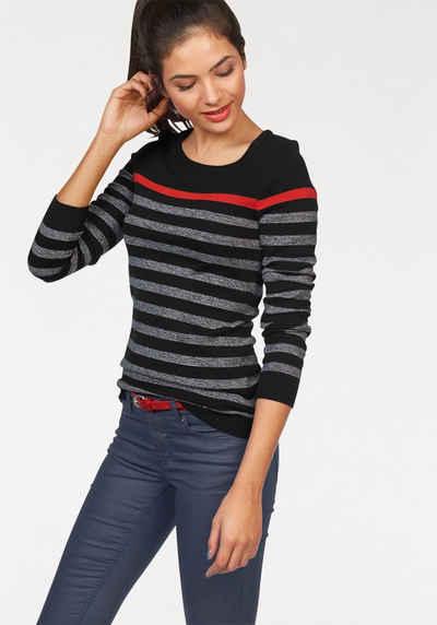 Пуловер с круглым вырезом AJC