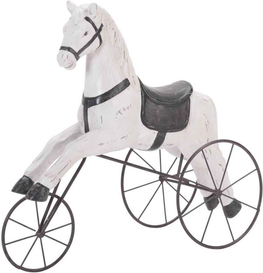 Wittkemper Dekofigur »Pferd auf Rollen« in schwarz