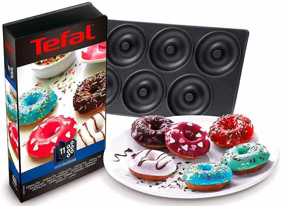 Tefal Platte Donuts XA8011, Zubehör Snack-Collection