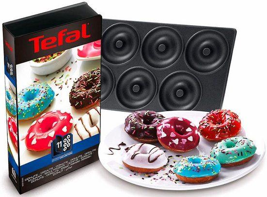 Tefal Donutplatten »XA8011«, Metall, passend für Tefal SW852D Snack Collection