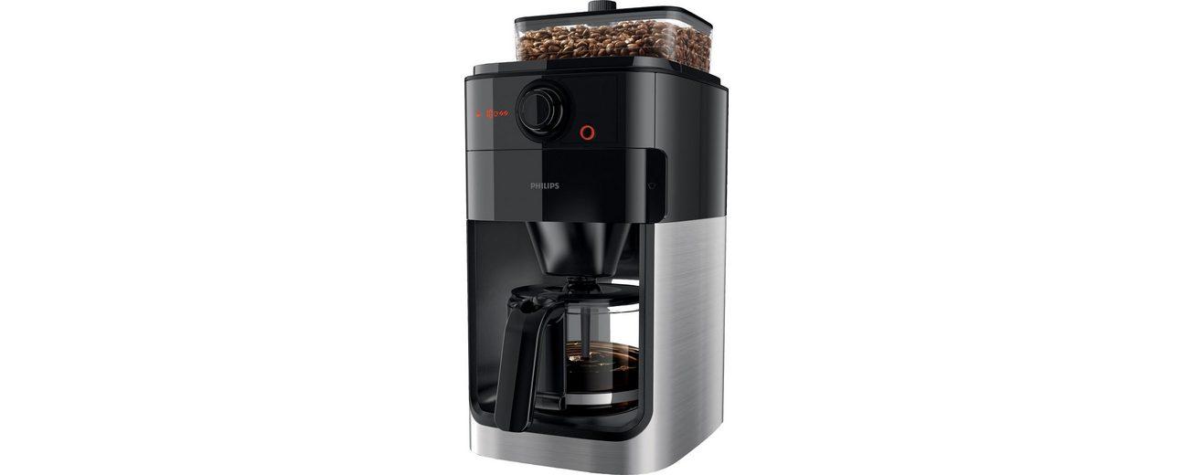 Philips Kaffeemaschine HD7765/00, Edelstahl/Schwarz