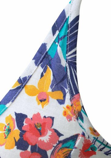 Beachtime Strandkleid mit Hawaii-Print