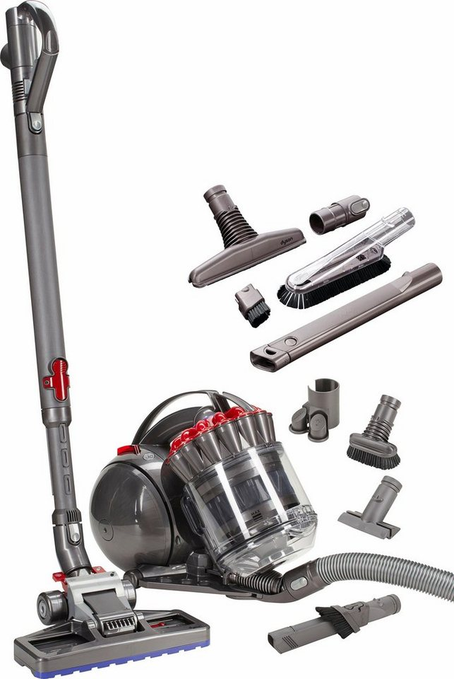 Dyson Bodenstaubsauger DC33c Exclusive, beutellos, Energieklasse A, rot in rot