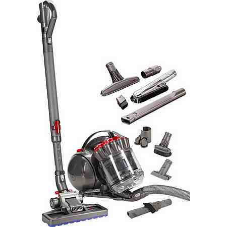 Dyson Bodenstaubsauger DC33c Exclusive, beutellos, Energieklasse A, rot