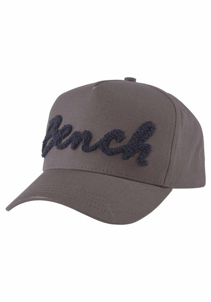 Bench Baseball Cap in grau