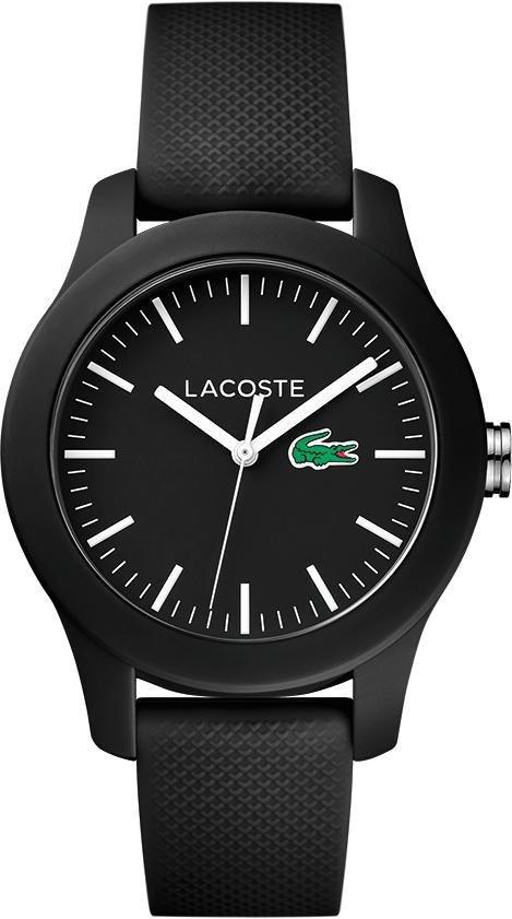 Lacoste Quarzuhr »LACOSTE.12.12 LADIES, 2000956« in schwarz