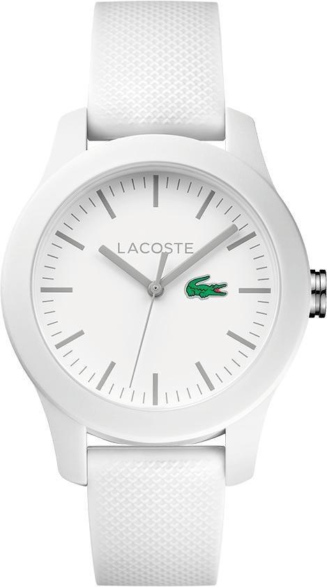 Lacoste Quarzuhr »LACOSTE.12.12 LADIES, 2000954« in weiß