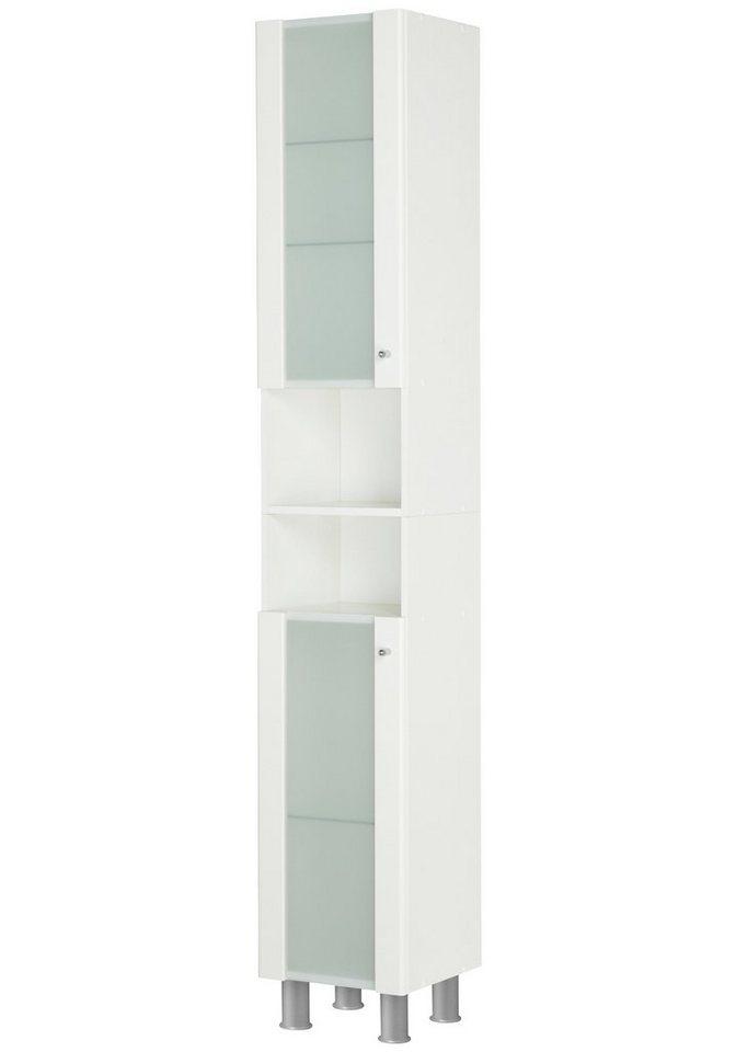 Hochschrank »Ravenna« in weiß