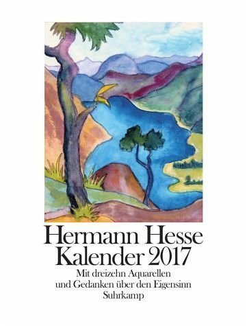 Kalender »Hermann Hesse Kalender 2017«