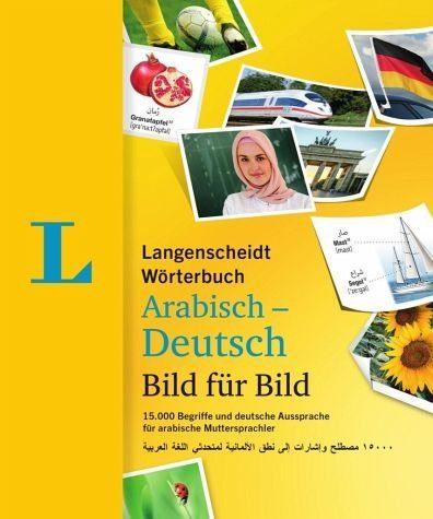 Broschiertes Buch »Langenscheidt Wörterbuch Arabisch-Deutsch Bild...«