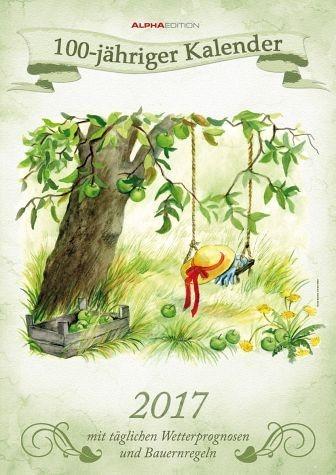 Kalender »100-jähriger Kalender 2017 (Format 42 x 30 cm)«
