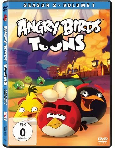 DVD »Angry Birds Toons - Season 2, Volume 1«