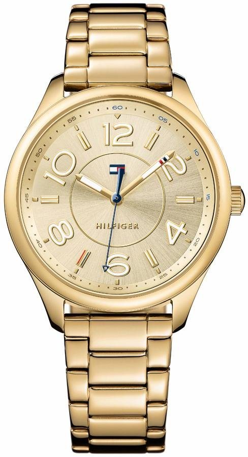Tommy Hilfiger Quarzuhr »Sophisticated Sport, 1781673« in goldfarben