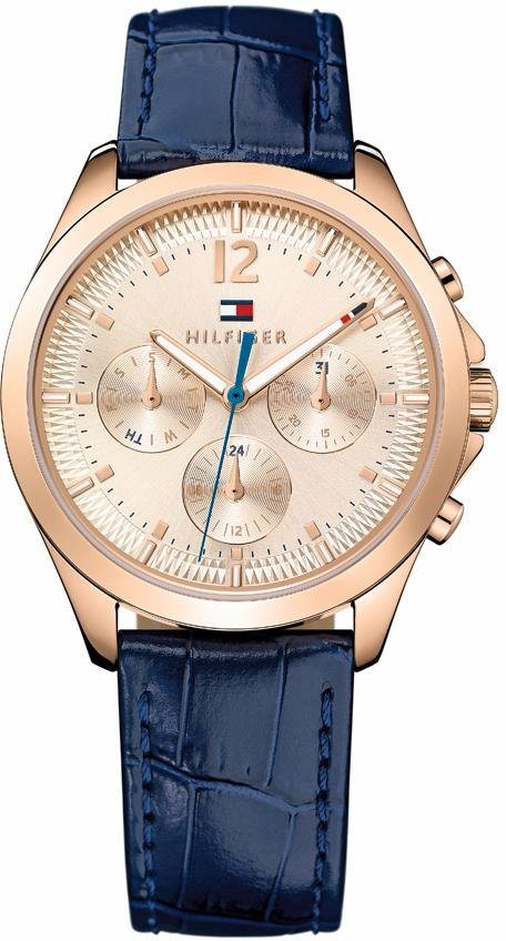 Tommy Hilfiger Multifunktionsuhr »Sophisticated Sport, 1781703« in blau