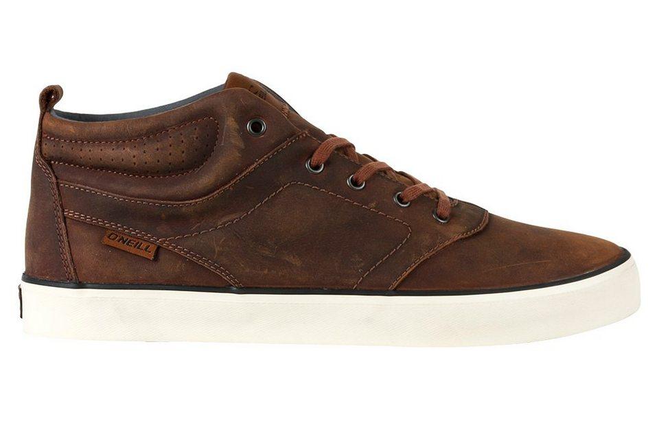 O'NEILL Mid Cut Sneaker »Leder Sneaker Psycho Mid oiled von O´Neill« in Cognac