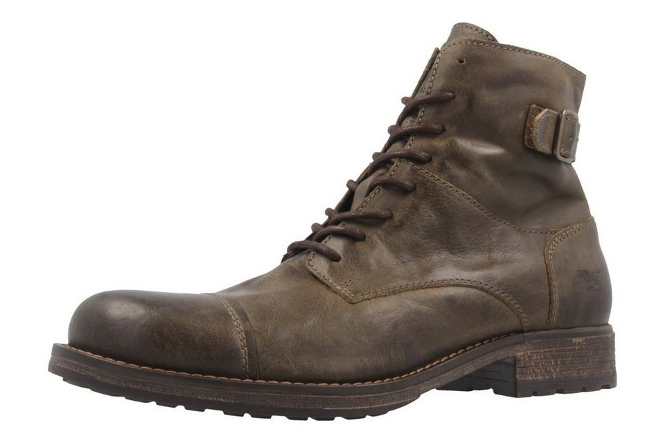 Mustang Boots in Khaki