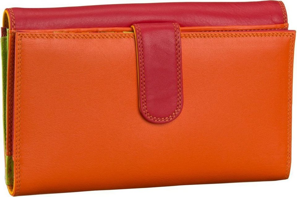Mywalit Large Tab Flapover Purse in Jamaica